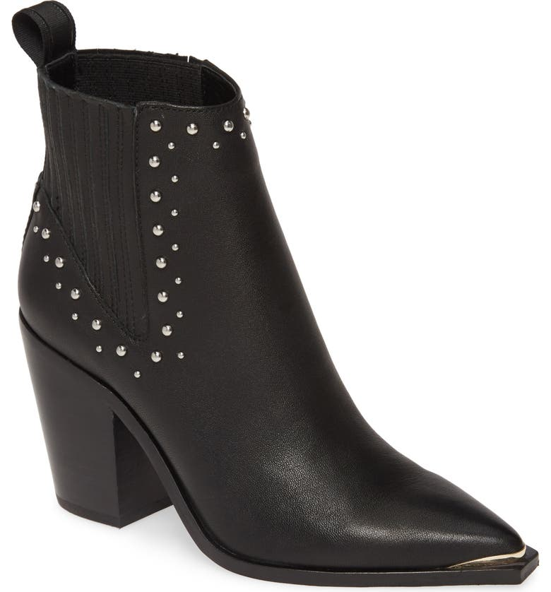 KENNETH COLE NEW YORK West Side Bootie, Main, color, BLACK LEATHER