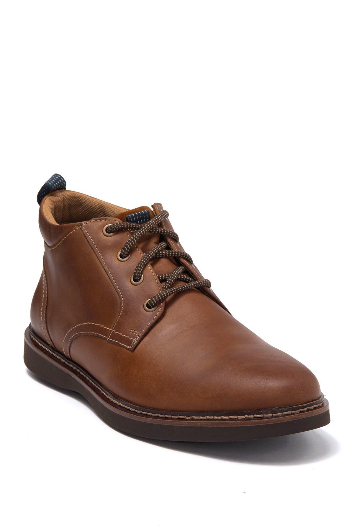 Image of NUNN BUSH Ridgetop Leather Plain Toe Chu a Boot - Wide Width Available