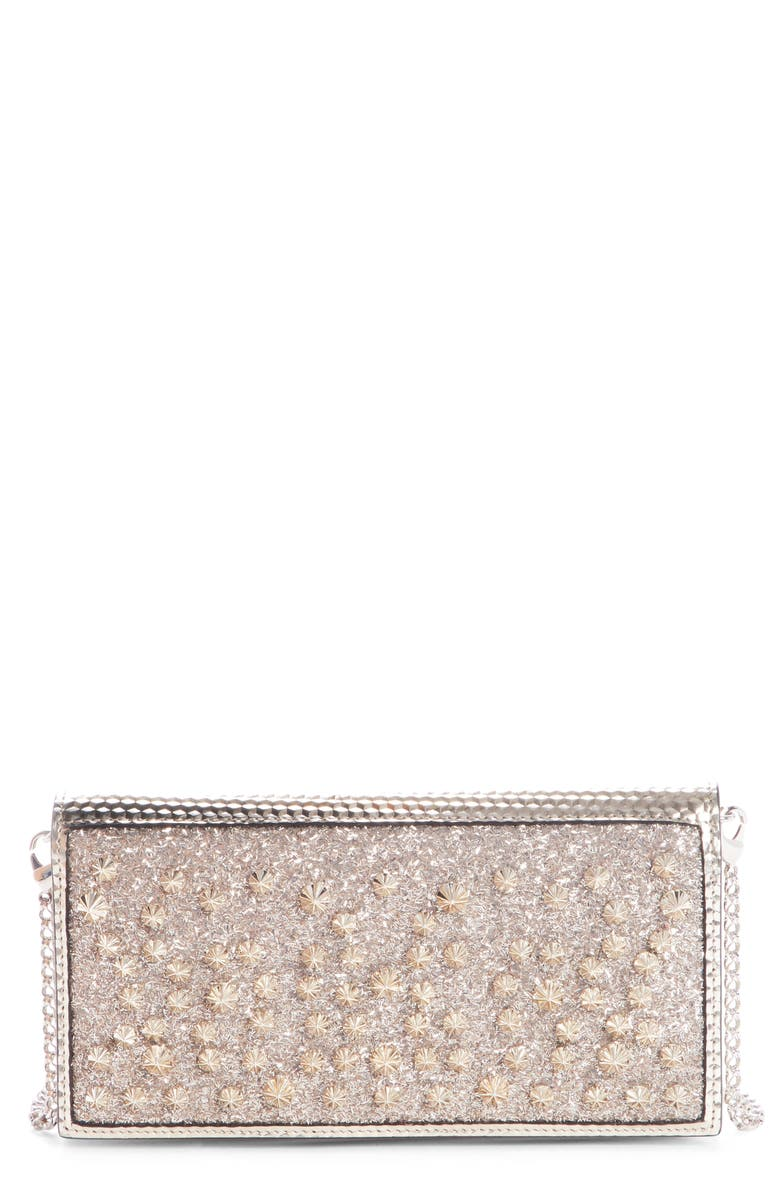 e21db182cab Christian Louboutin Boudoir Studded Wallet on a Chain | Nordstrom