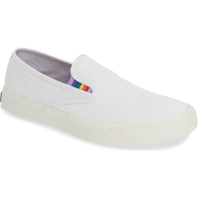 Sperry Captain Slip-On, White