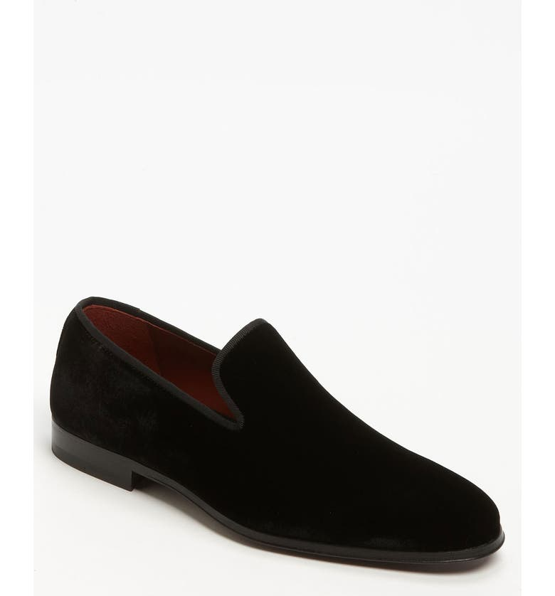 MAGNANNI Dorio Venetian Loafer, Main, color, BLACK