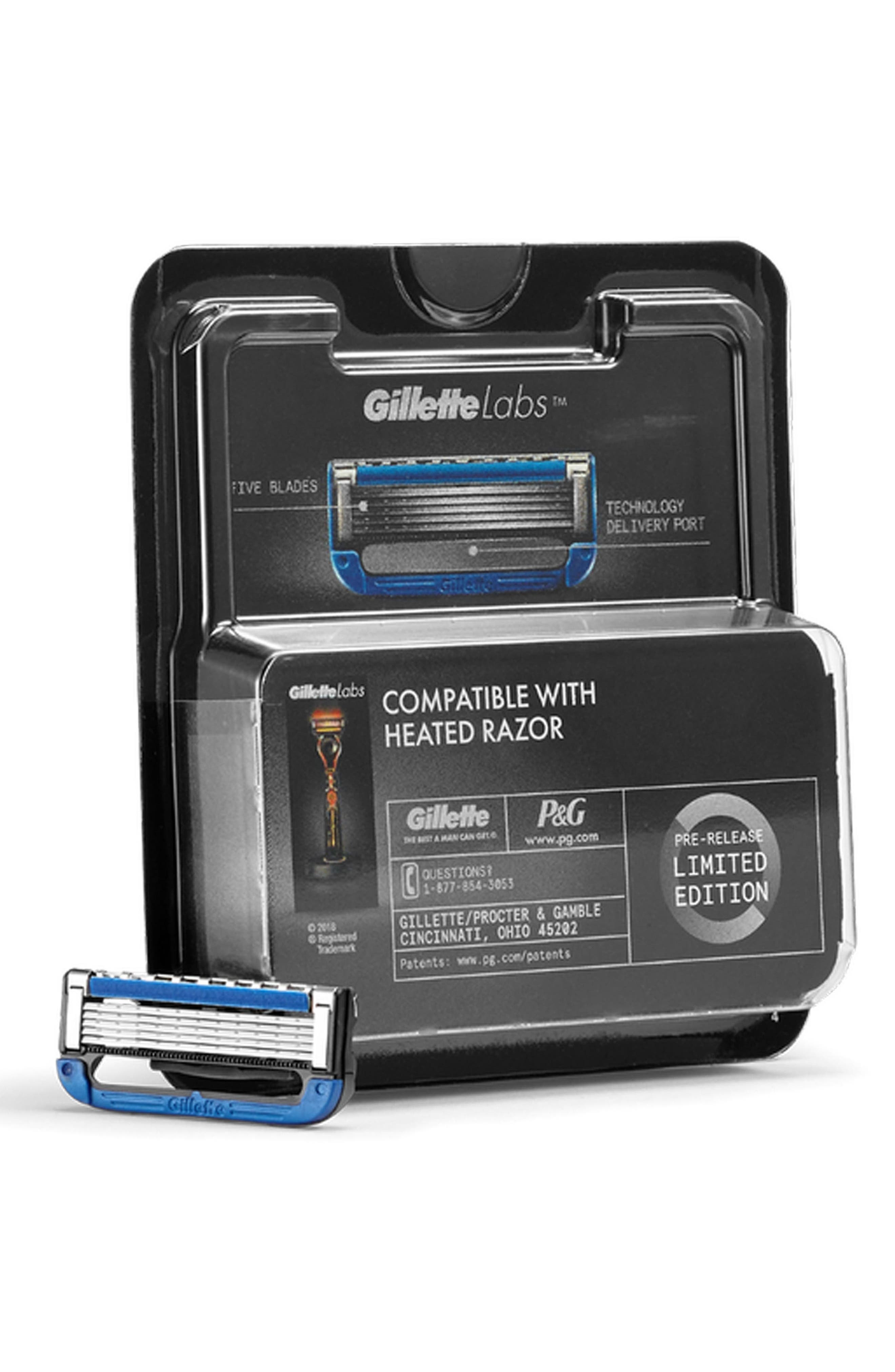 What it is: A set of eight cartridge refills designed to fit your GilletteLabs Heated Razor (sold separately).What it does: These refills feature a unique technology delivery port that allows the warming bar to fit through the cartridge so it can contact the skin to provide a heating sensation. The five-blade razor helps deliver a clean, close shave with the comfort of a hot towel in every stroke. Style Name: The Art Of Shaving Gillettelabs