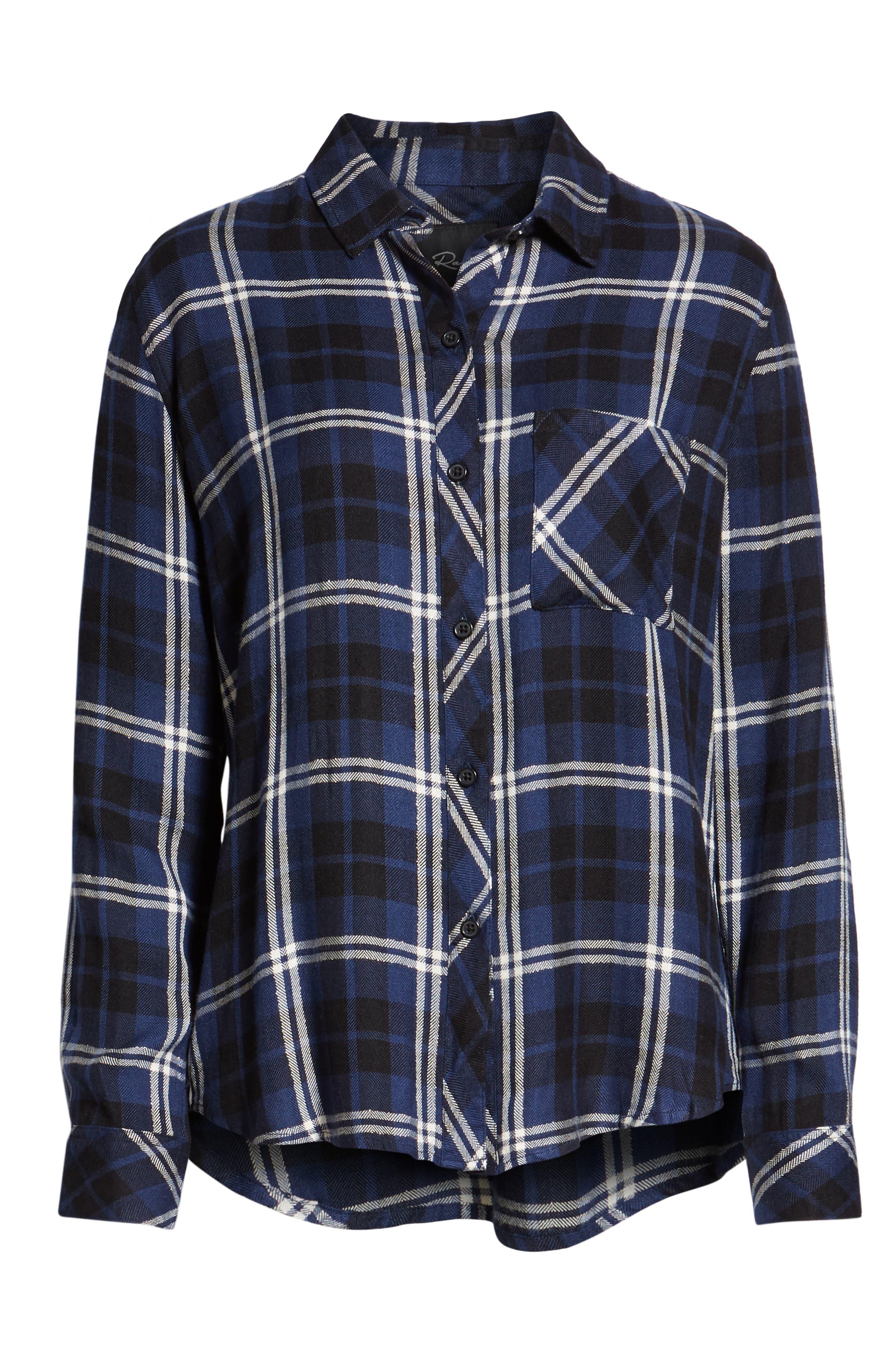 ,                             Hunter Plaid Shirt,                             Alternate thumbnail 339, color,                             411