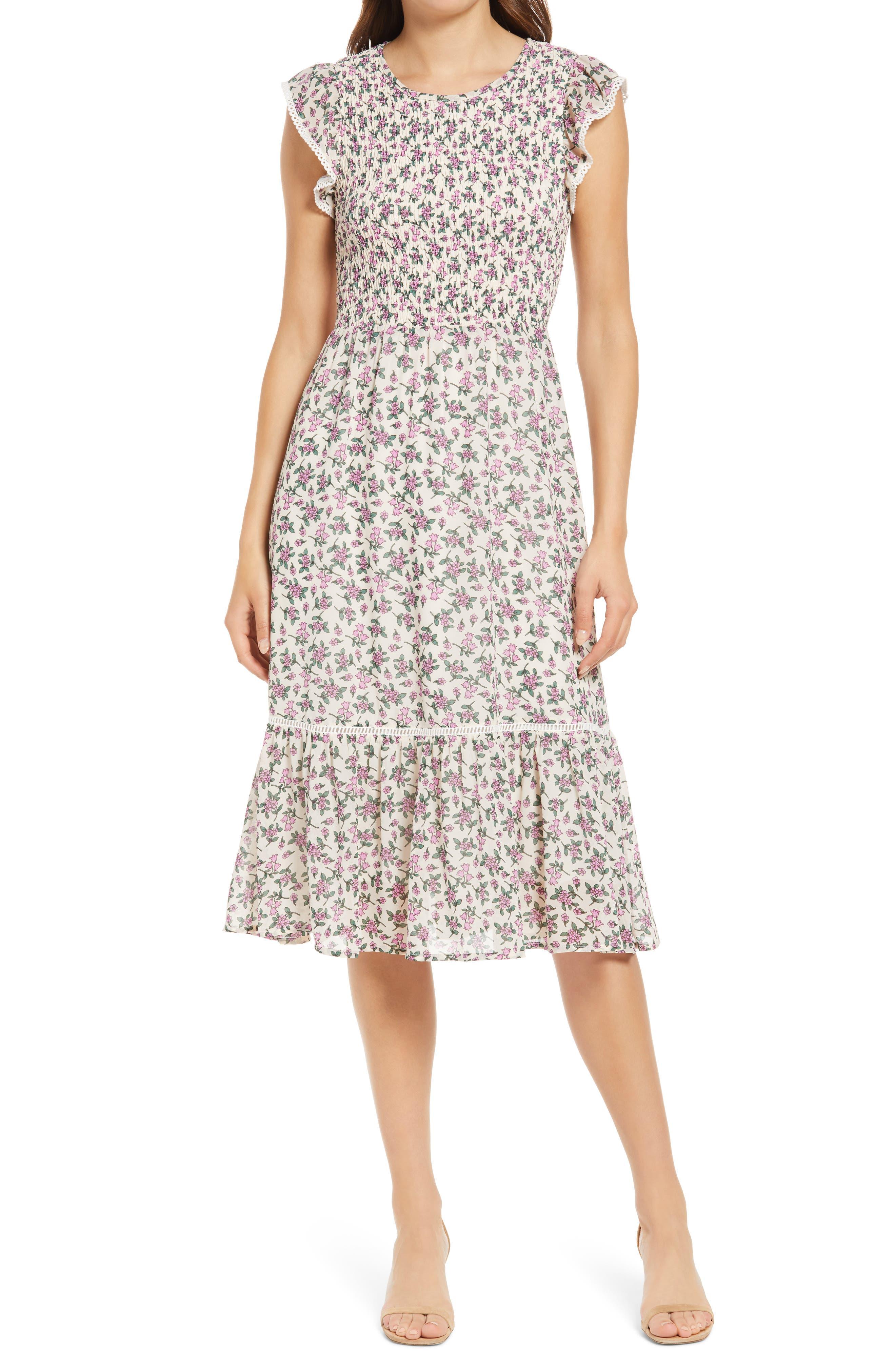Women's Lost + Wander Pick Me Midi Dress