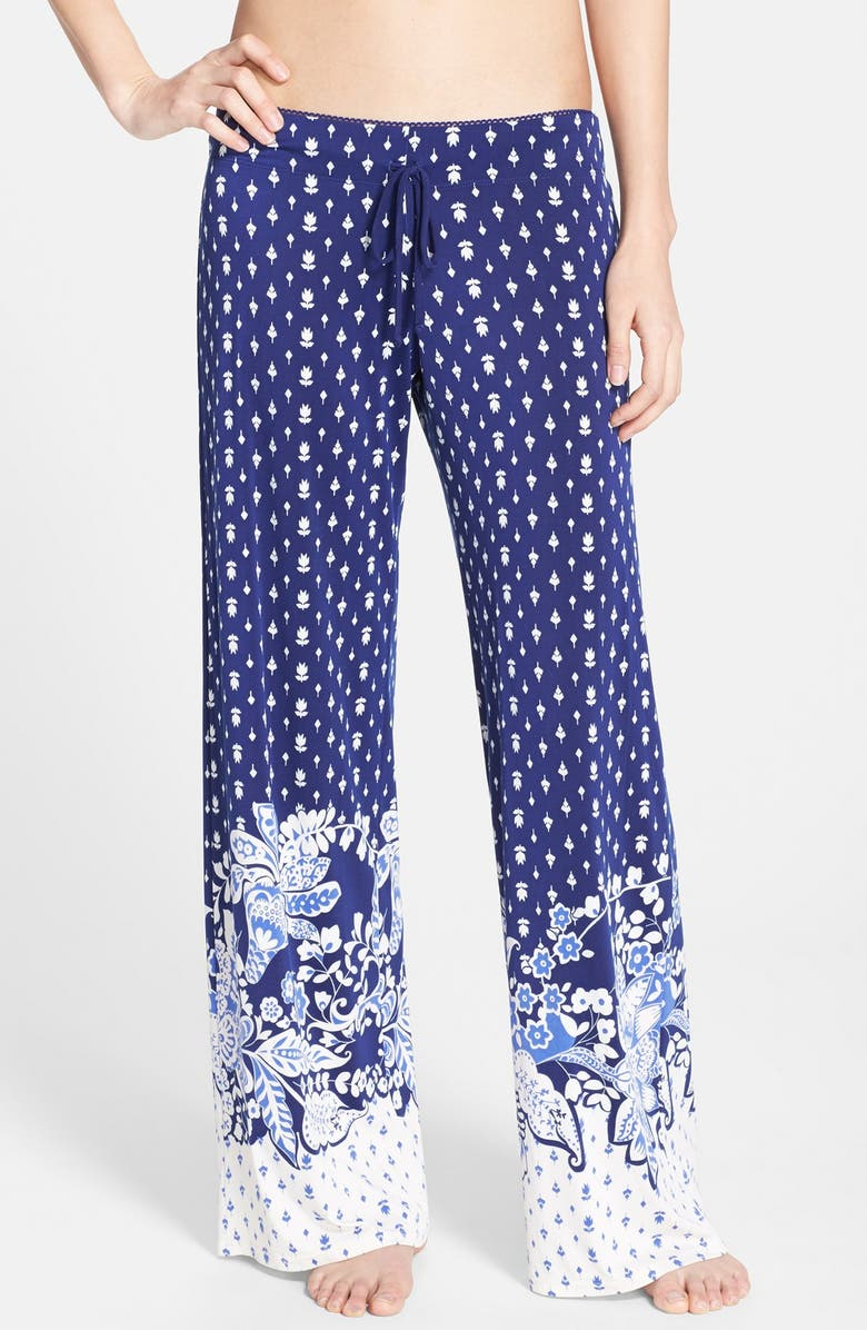 IN BLOOM BY JONQUIL 'Bandana Border' Pants, Main, color, 401