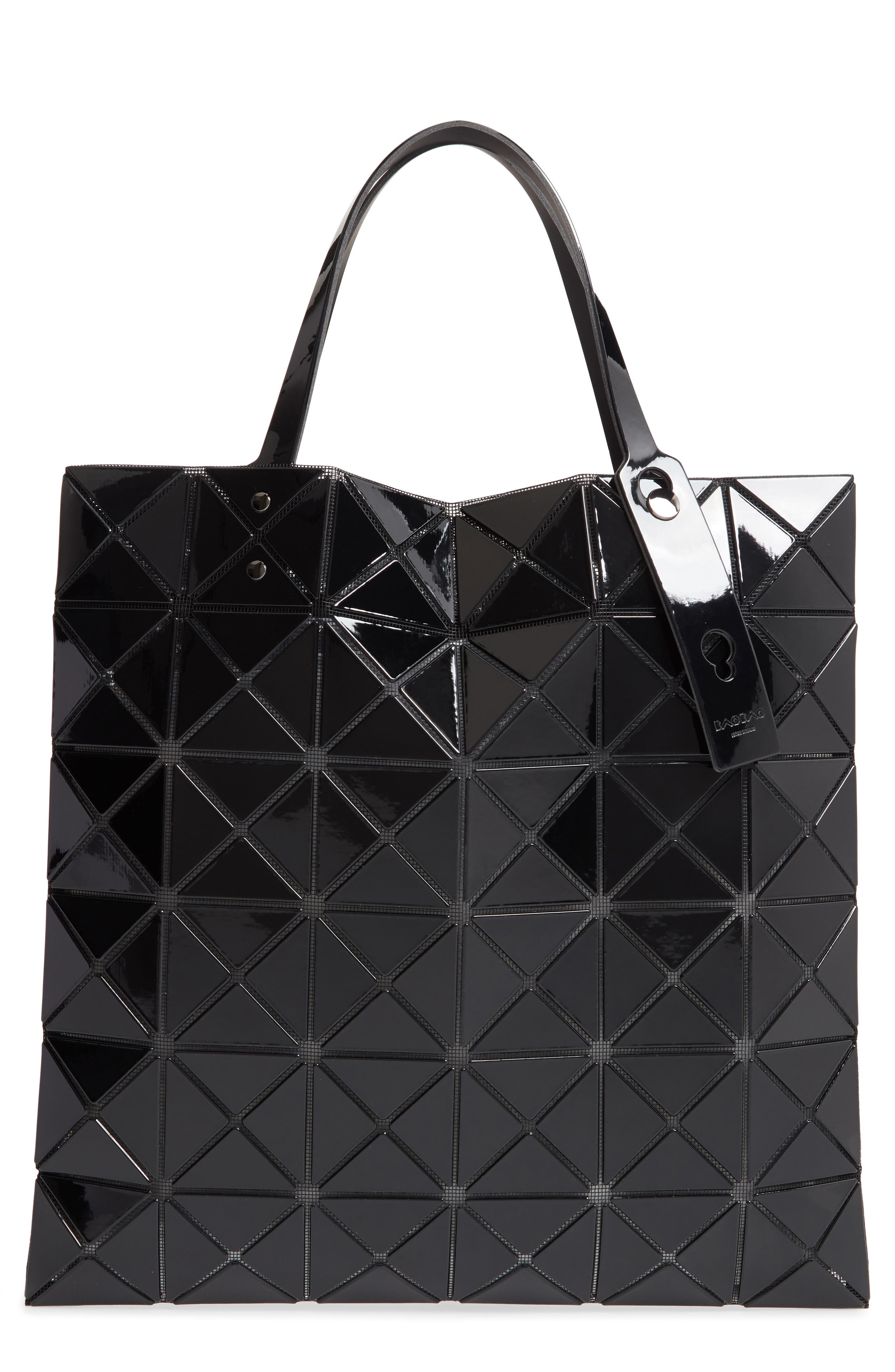 Lucent Tote, Main, color, BLACK