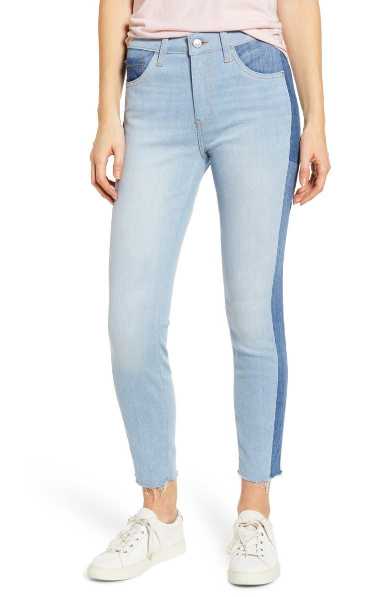 Mavi Jeans Tess Colorblock Super Skinny Jeans