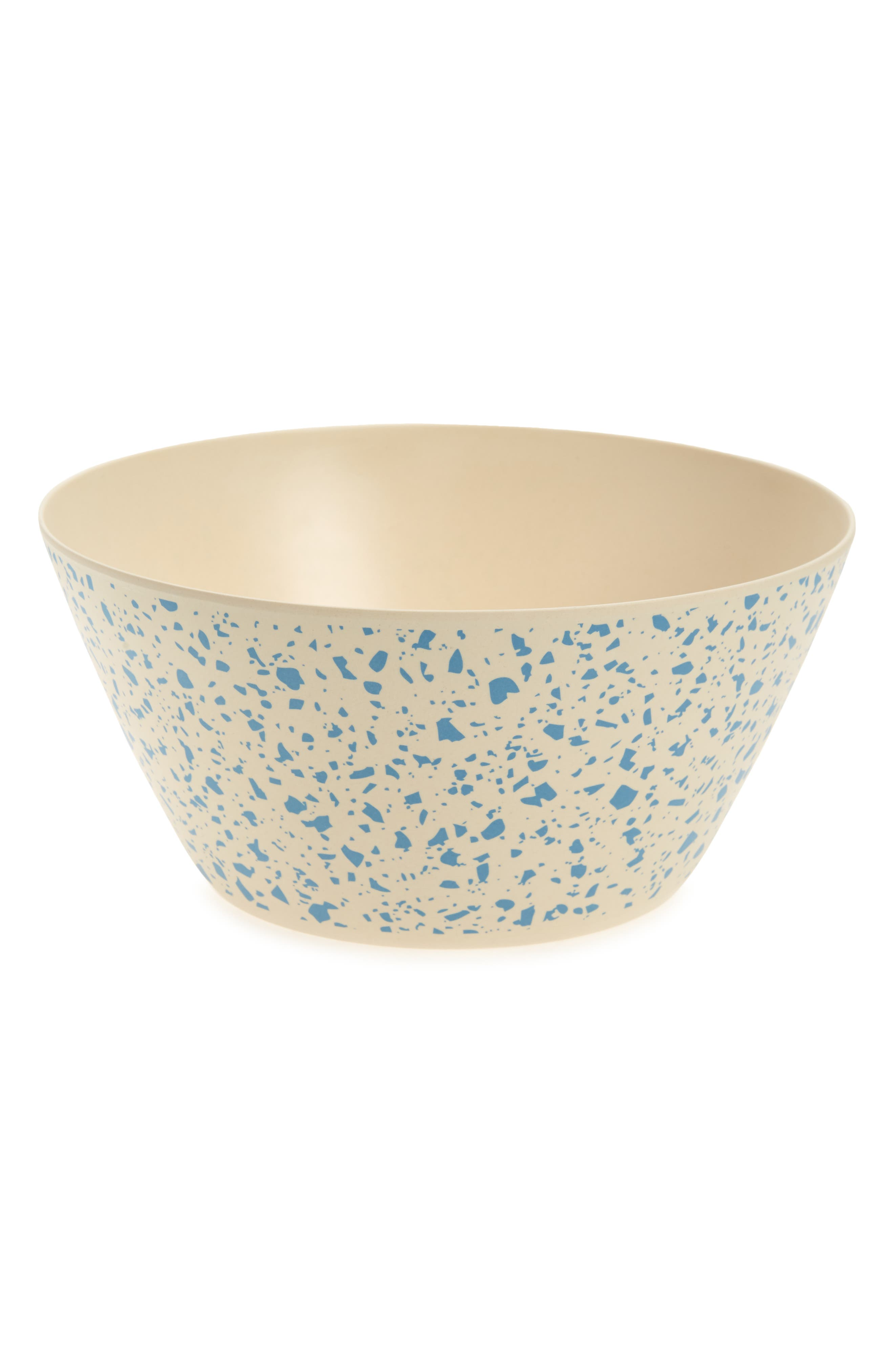Share good food and sustainable practices with a terrazzo-look serving bowl made from repurposed scraps of biodegradable bamboo fiber. Added bonus: it\\\'s practically unbreakable and won\\\'t shatter if you drop it. Style Name: Xenia Taler Lido Serving Bowl. Style Number: 6118091. Available in stores.