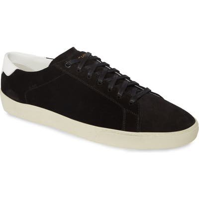 Saint Laurent Low Top Sneaker, US / 44EU - Black