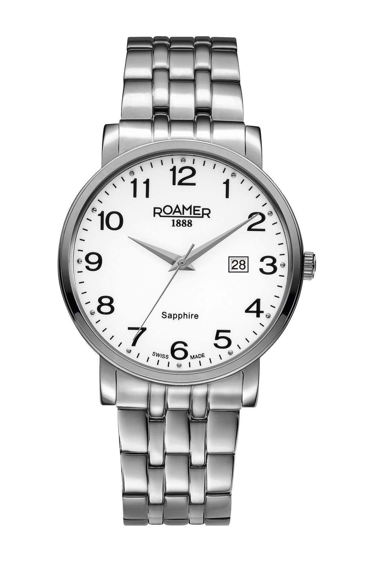 Image of Roamer Men's Classic Line Bracelet Watch