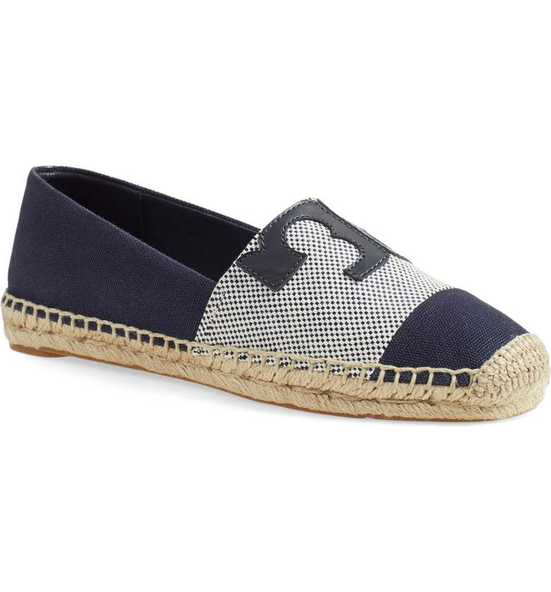 TORY BURCH Canvas Espadrille, Main, color, 049