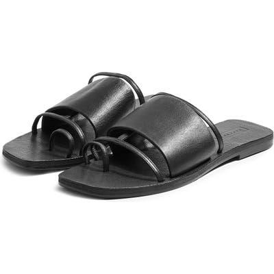 Topshop Fortune Slide Sandal - Black