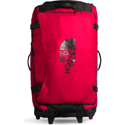 The North Face Rolling Thunder Wheeled Duffle Bag - Red