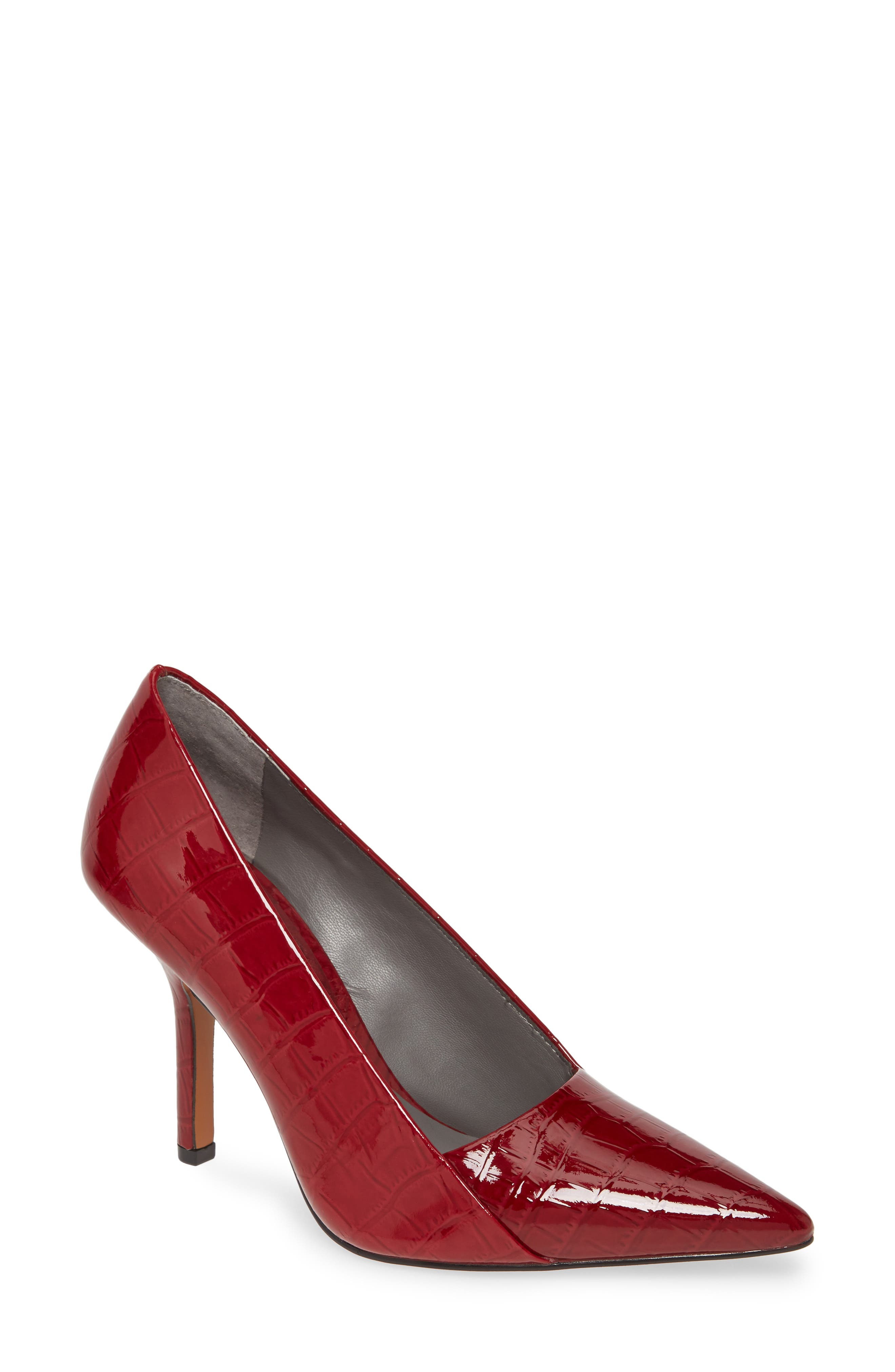 Novalla Leather Pointed Toe Pump