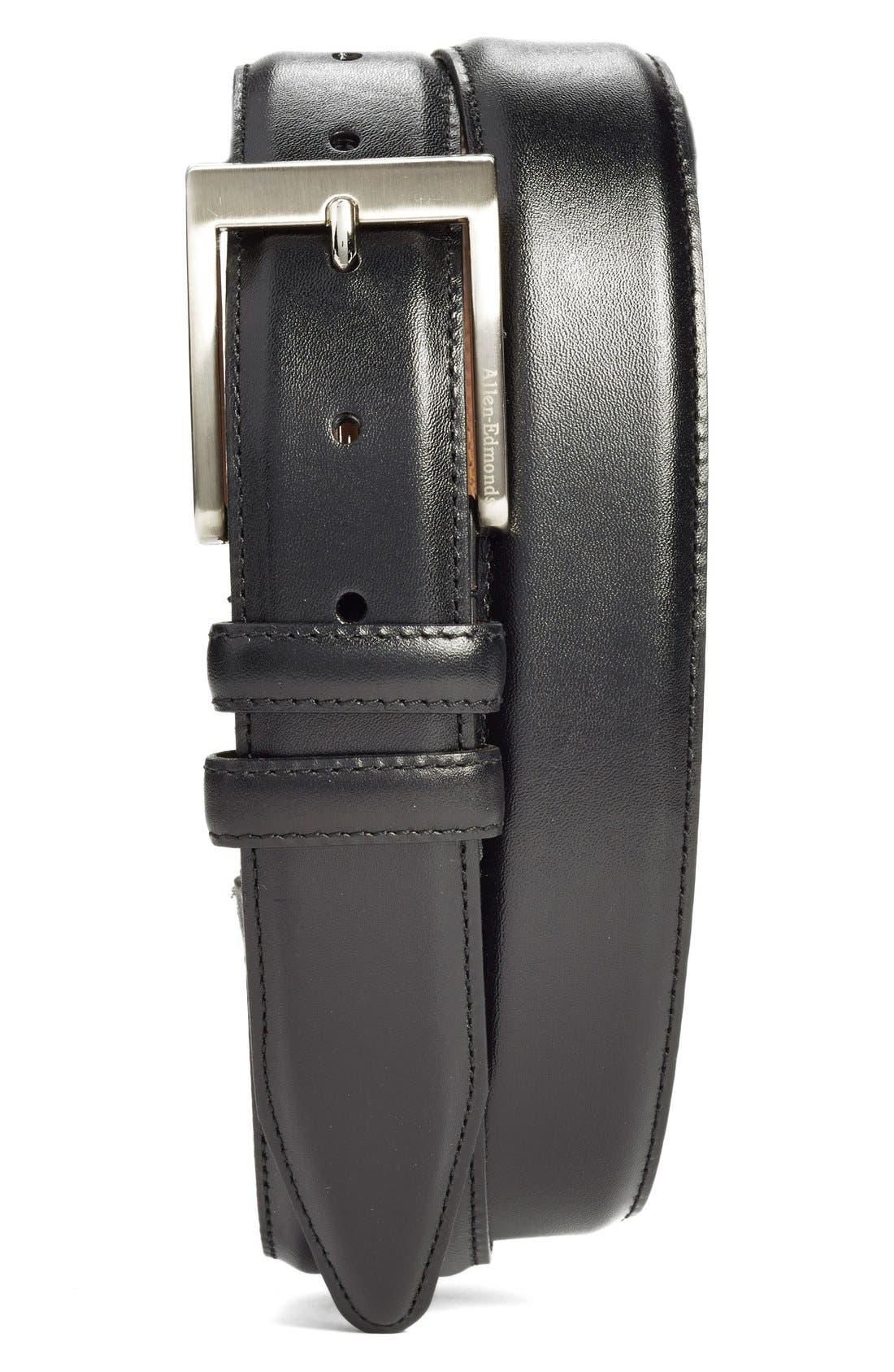 ,                             Classic Wide Belt,                             Main thumbnail 1, color,                             BLACK