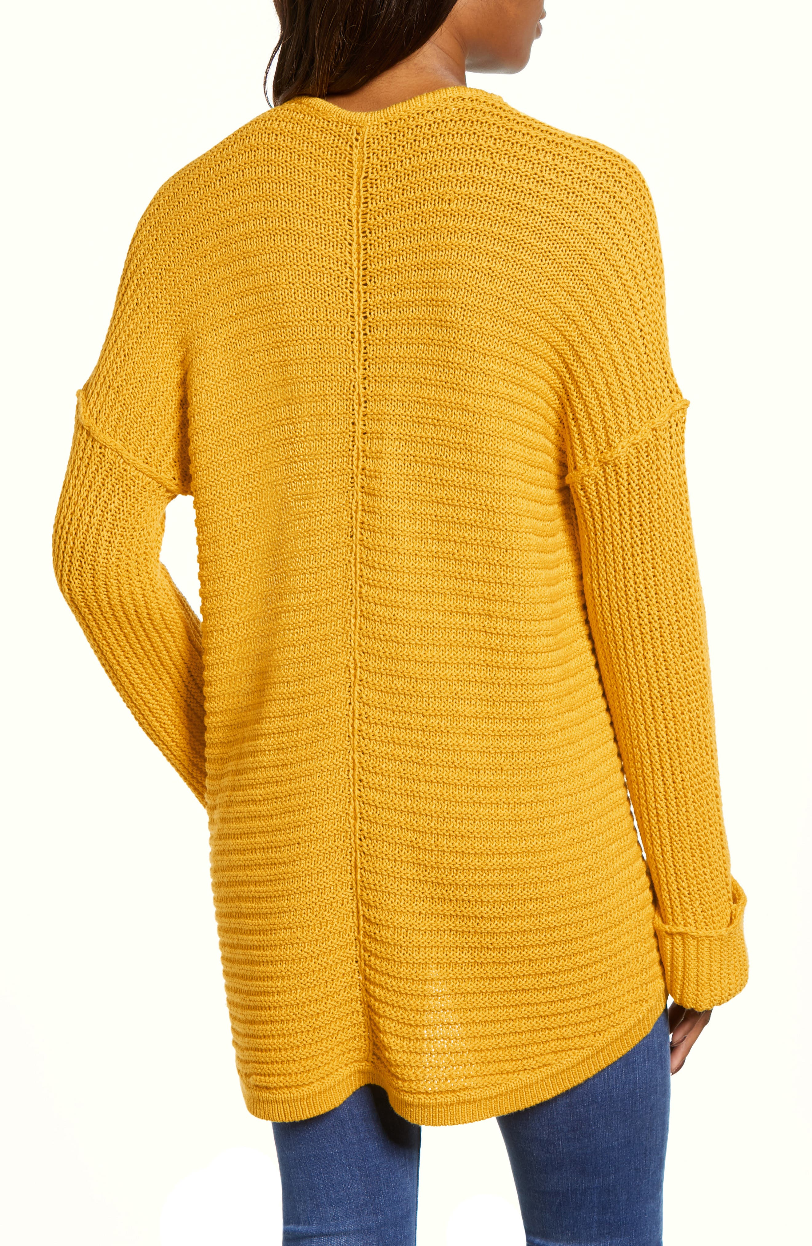 ,                             Cuffed Sleeve Sweater,                             Alternate thumbnail 32, color,                             720
