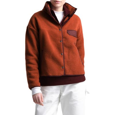 The North Face Cragmont Fleece Jacket, Red