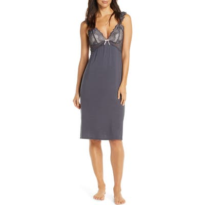 Homebodii Petra Nightgown, Grey