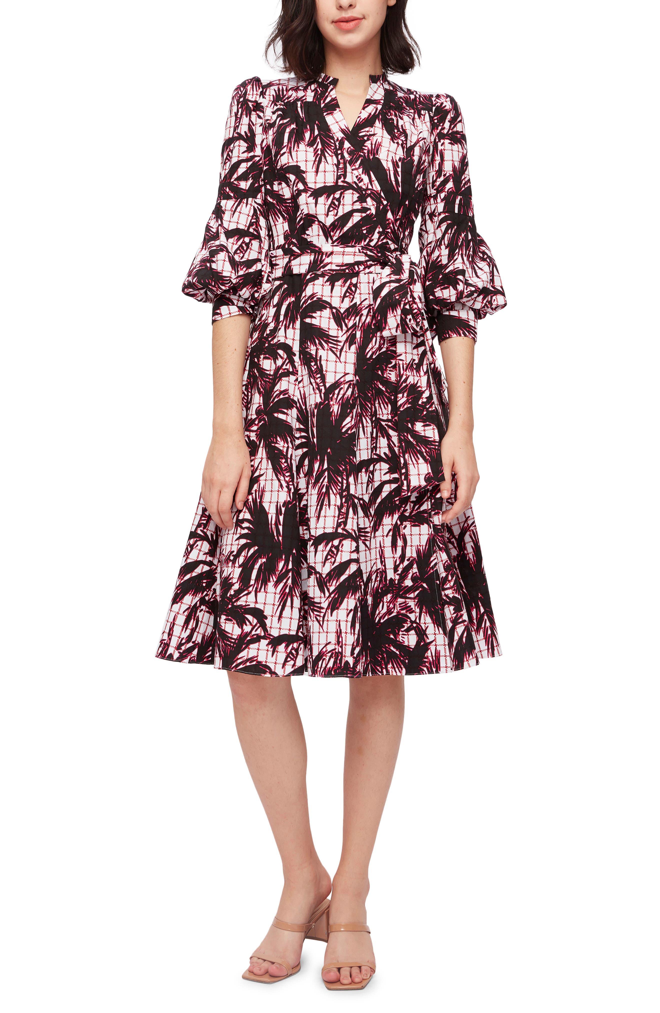Adele Tie Waist A-Line Dress