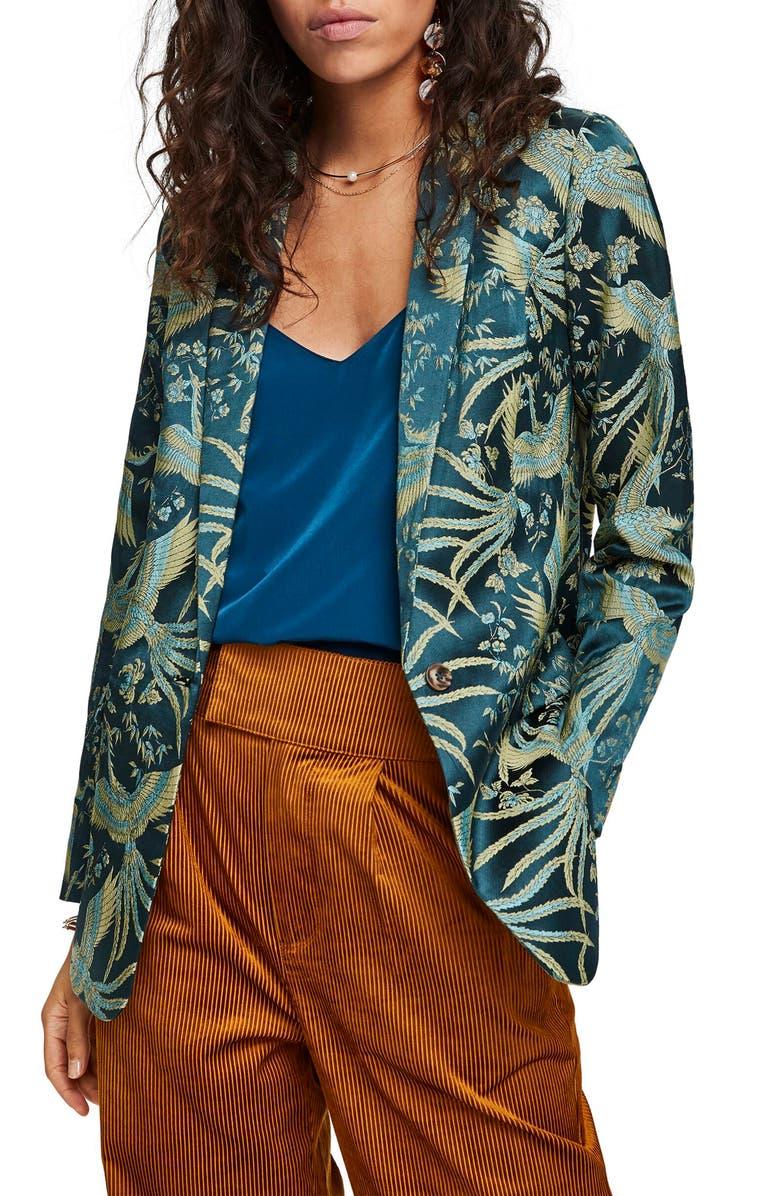 SCOTCH & SODA Jacquard Blazer, Main, color, 440