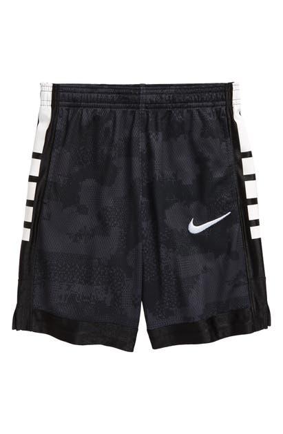 Nike KIDS' ELITE ENERGY CAMO LOGO MESH SHORTS (LITTLE BOY)