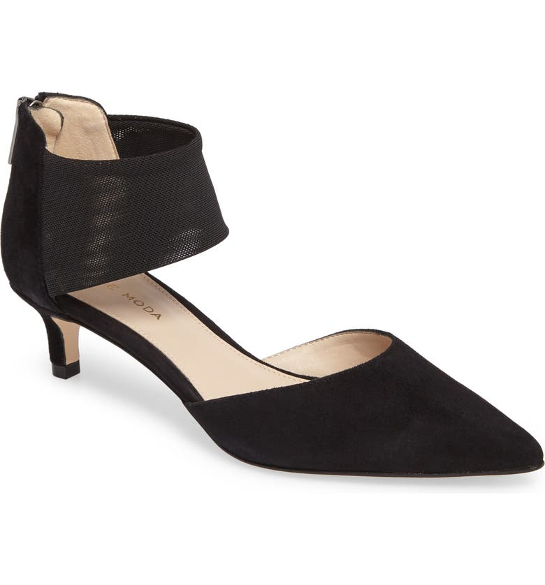 PELLE MODA Dezi Pump, Main, color, BLACK SUEDE