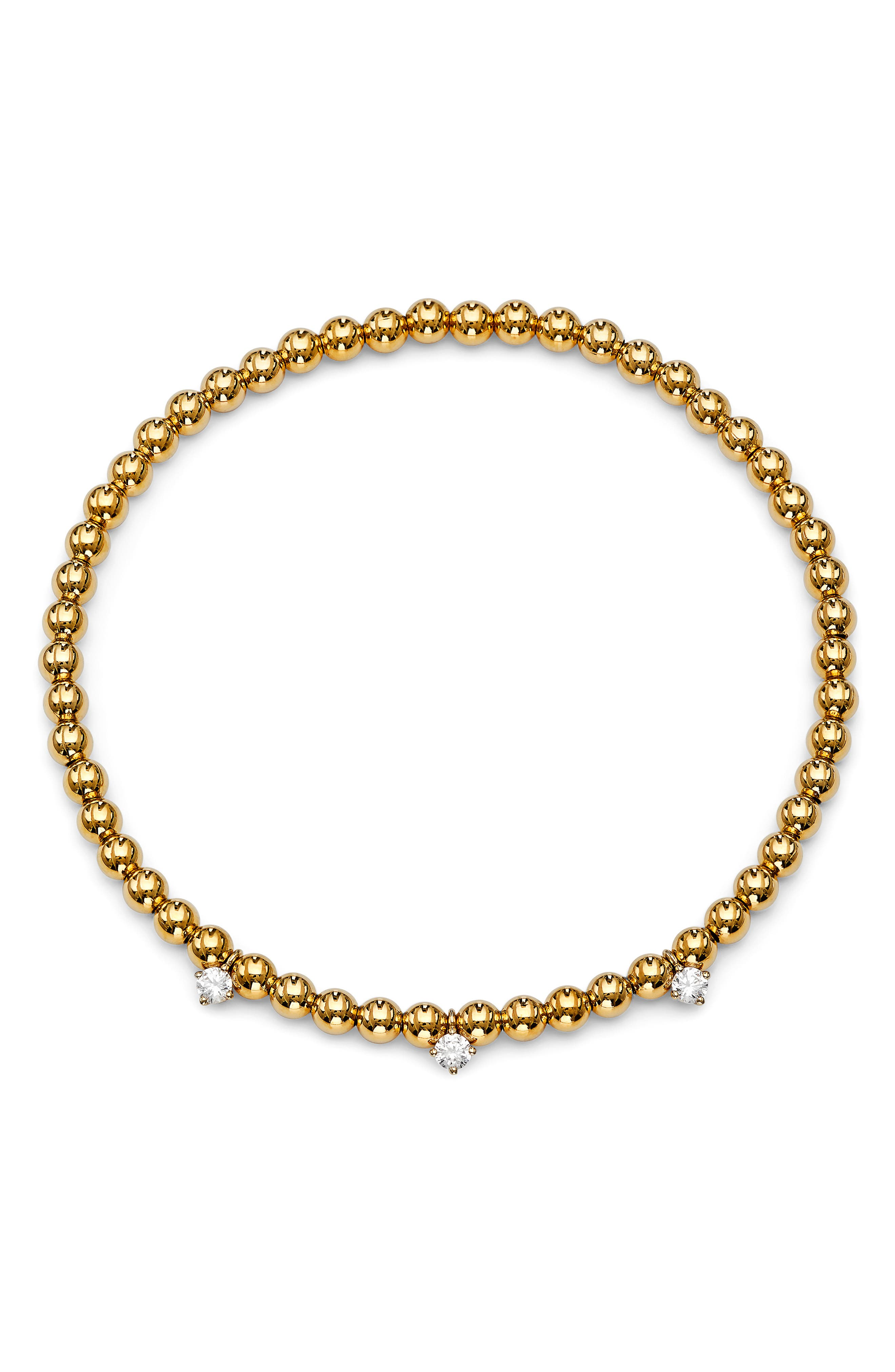Image of AJOA Lala Cubic Zirconia Stretch Bracelet