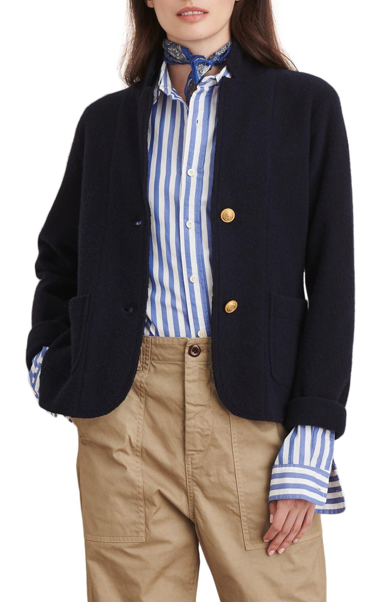 Alex Mill Merino Wool Sweater Jacket | Nordstrom