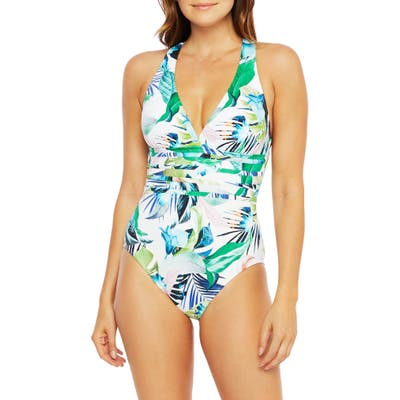 La Blanca In The Moment One-Piece Swimsuit, White