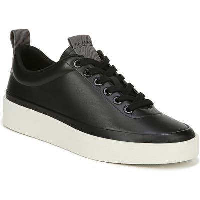 Via Spiga Mae Platform Sneaker, Black