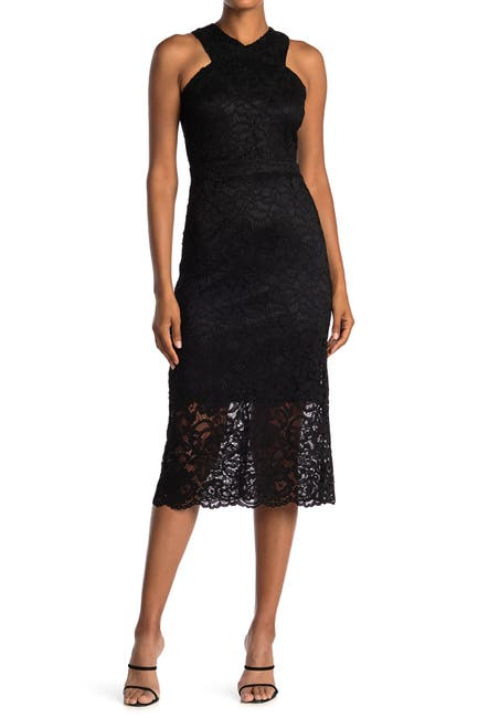 Image of Sam Edelman Lace Midi Dress