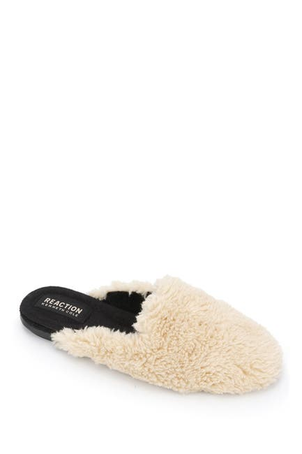 Image of Kenneth Cole Reaction Viv Faux Shearling Loafer Mule