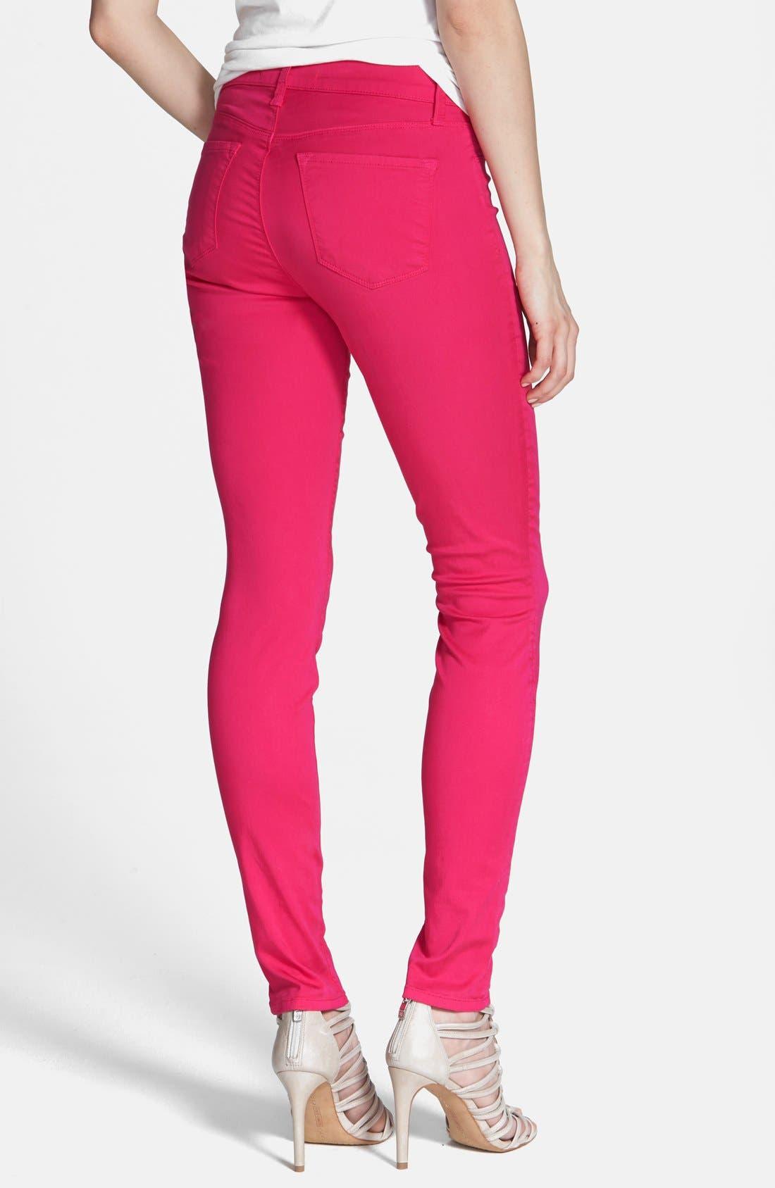 ,                             '485' Mid Rise Super Skinny Jeans,                             Alternate thumbnail 61, color,                             671