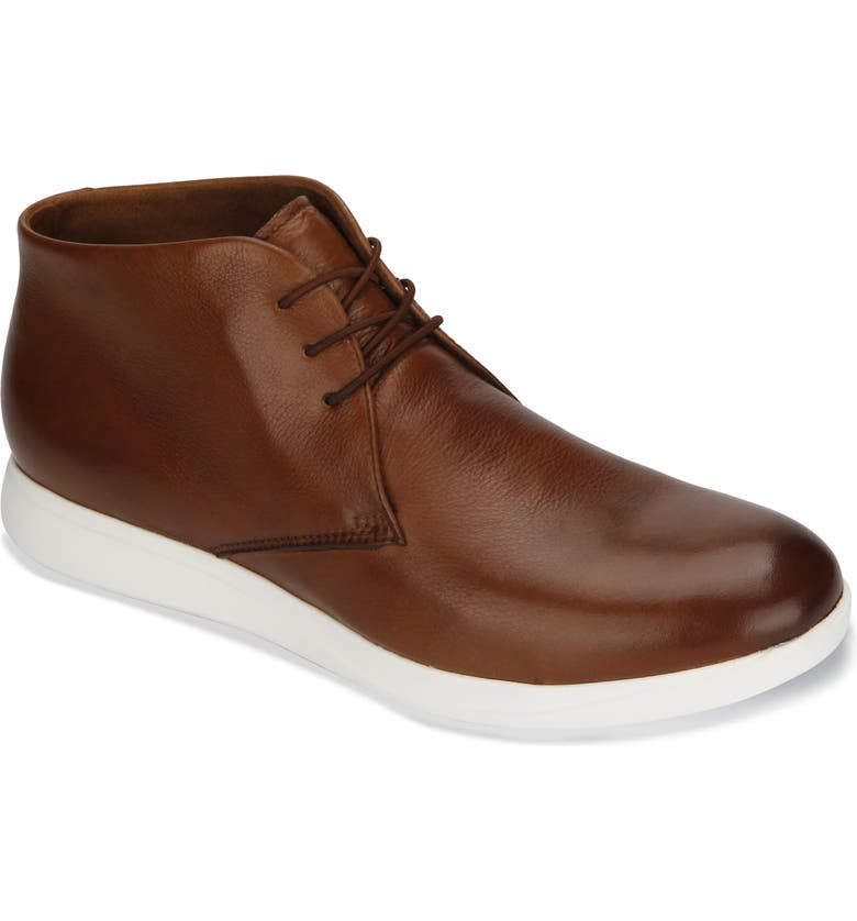 KENNETH COLE NEW YORK Rocketpod Chukka Sneaker, Main, color, COGNAC LEATHER