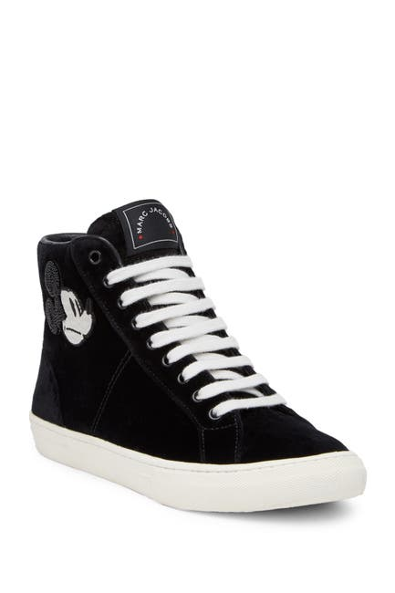 Image of Marc Jacobs Orchard Mickey Mouse High Top Sneaker