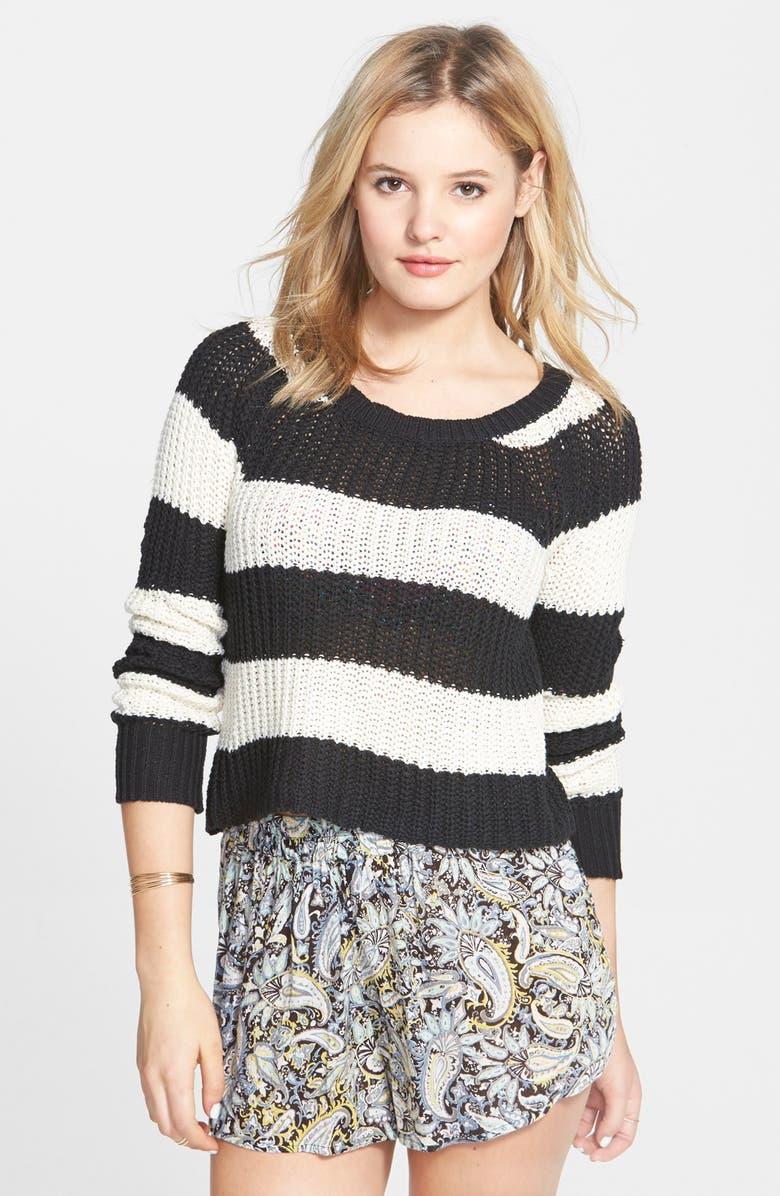 BILLABONG 'Cosmic Skies' Stripe Sweater, Main, color, 015