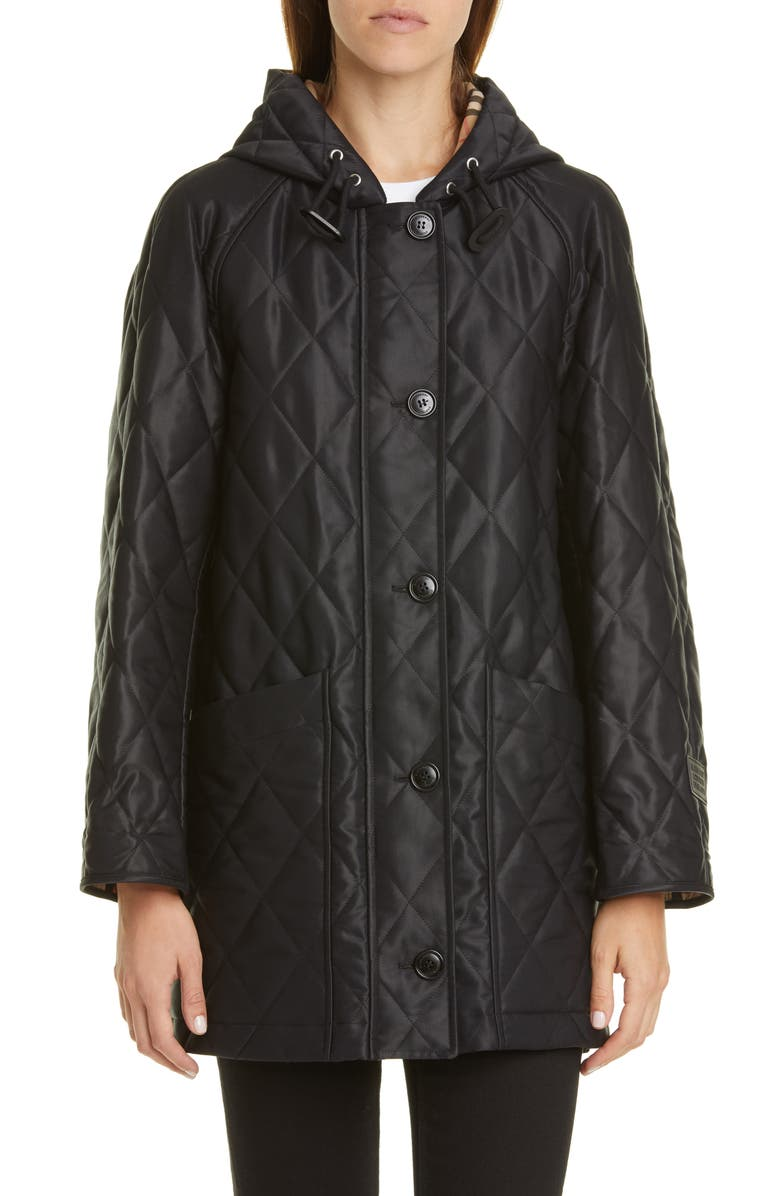 Burberry Roxwell Quilted Coat