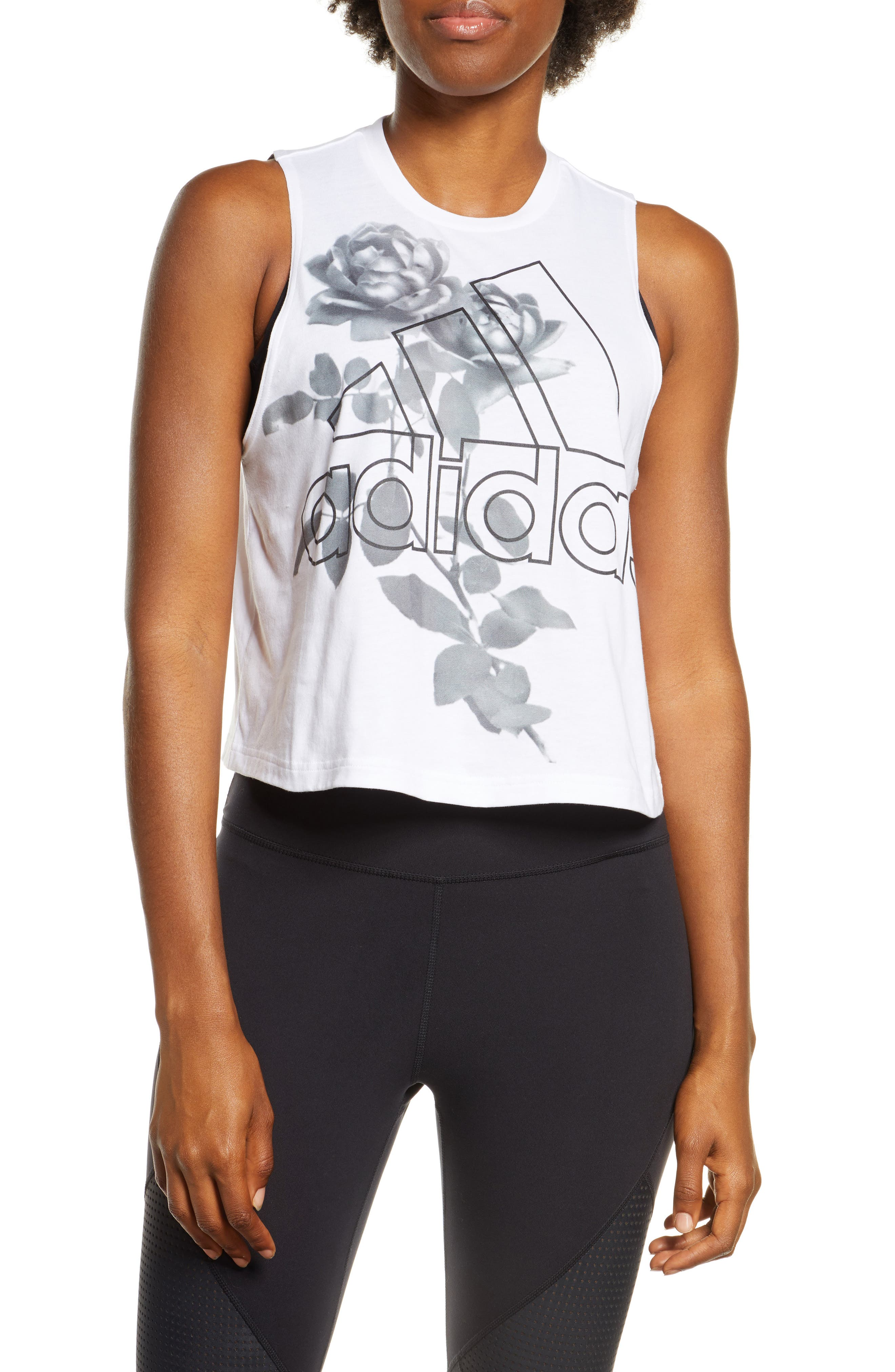 adidas Work in Progress Crop Tank