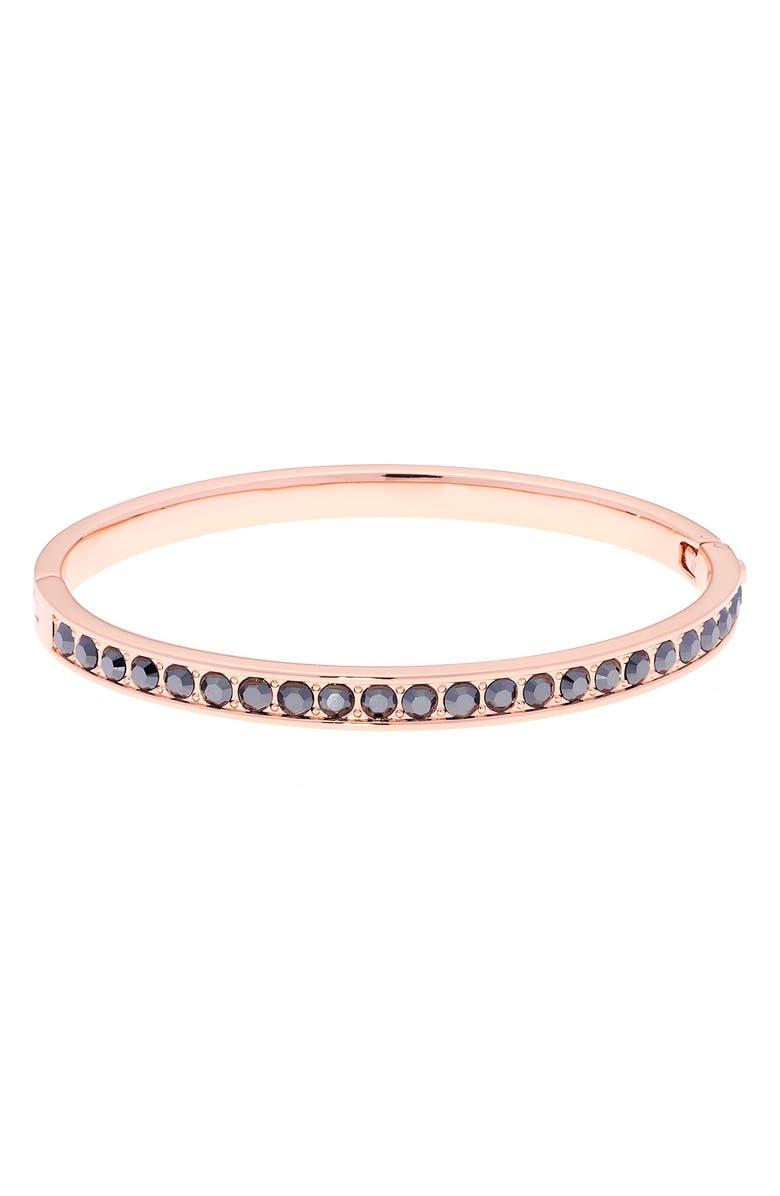 TED BAKER LONDON Clemara Hinge Bangle Bracelet, Main, color, 001