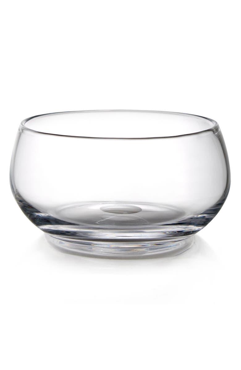 NAMBÉ Moderne Glass Bowl, Main, color, CLEAR