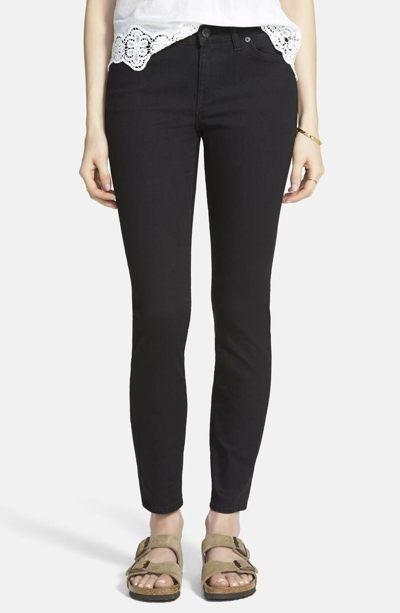 MADEWELL Skinny Jeans, Main, color, 001