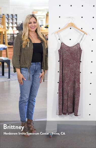 Dirdre Dot Print Midi Dress, sales video thumbnail