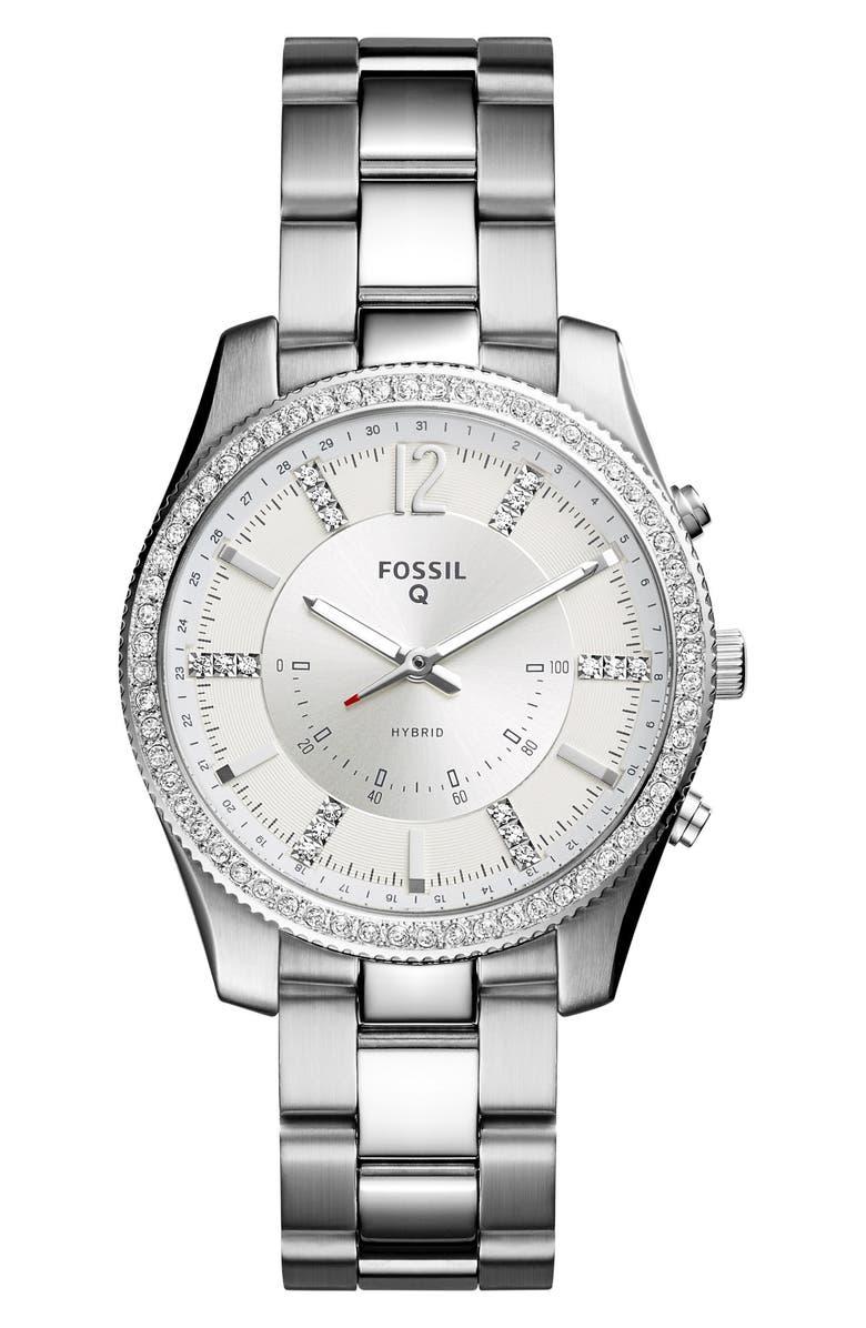 FOSSIL Q Scarlette Smart Bracelet Watch, 38mm, Main, color, 040