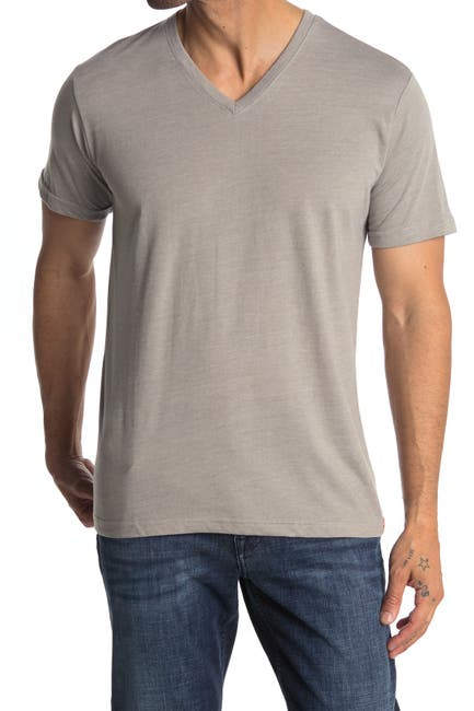Image of THE NORMAL BRAND V-Neck Jersey T-Shirt