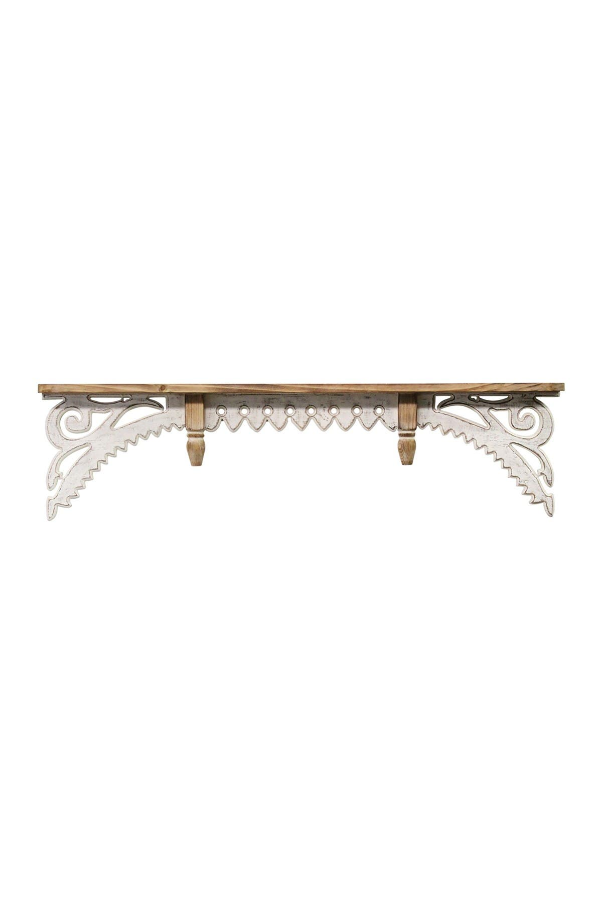 Image of Stratton Home Vintage Wood Wall Shelf