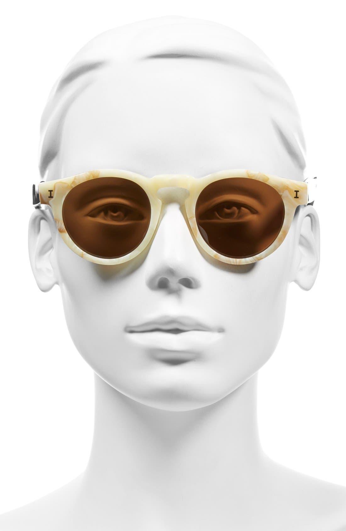 ,                             'Leonard' 47mm Sunglasses,                             Alternate thumbnail 128, color,                             275