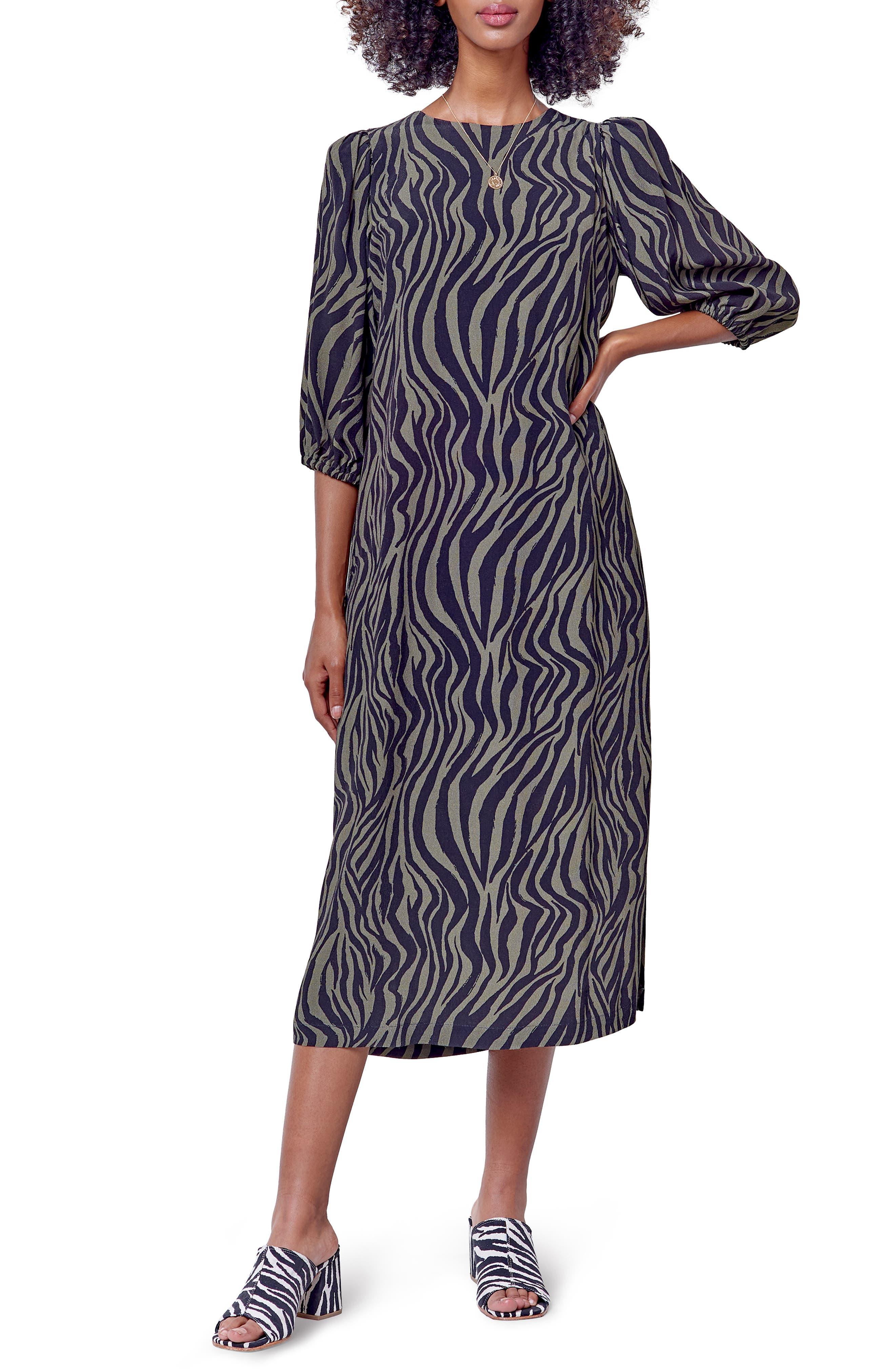 Women's Corey Lynn Calter Animal Print Midi Dress