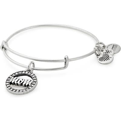 Alex And Ani Mom Adjustable Wire Bracelet