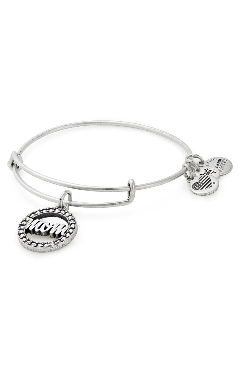 ALEX AND ANI Mom Adjustable Wire Bracelet, Main, color, 040