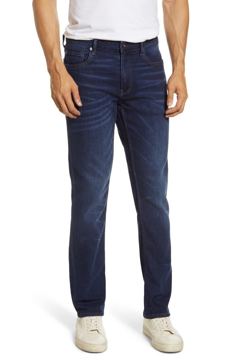 BONOBOS Slim Fit Jeans, Main, color, DARK WASH